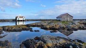 krajobrazowy scandinavian Zdjęcie Stock