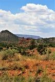 Krajobrazowy scenerii Maricopa okr?g administracyjny, Sedona, Arizona, Stany Zjednoczone obrazy stock