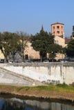 Krajobrazowy sull'Adige zdjęcie royalty free