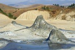 krajobrazowy surowy powulkaniczny Fotografia Royalty Free
