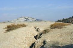 krajobrazowy surowy powulkaniczny Obrazy Stock