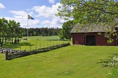 krajobrazowy Sweden Zdjęcia Stock