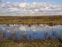 Krajobrazowy Tiengemeten Holandia Zdjęcia Stock