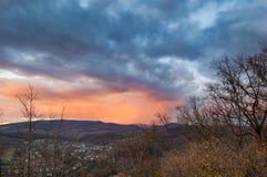 Krajobrazowy Transcarpathia Zdjęcie Stock