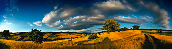 krajobrazowy transylvanian Zdjęcie Royalty Free