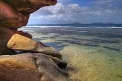 krajobrazowy tropikalny Obrazy Royalty Free