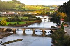 Krajobrazowy Tudela, Hiszpania Zdjęcia Royalty Free