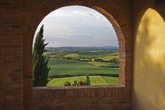 krajobrazowy Tuscan Obrazy Royalty Free
