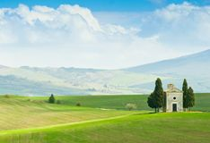 krajobrazowy Tuscany Obrazy Stock
