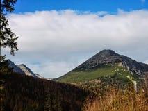 Krajobrazowy Vysoke Tatry w jesieni 21 Zdjęcia Royalty Free