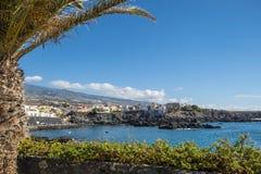 Krajobrazowy widok Alcala Tenerife Zdjęcia Stock
