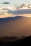 Krajobrazowy widok Błękitny góra park narodowy Obrazy Stock