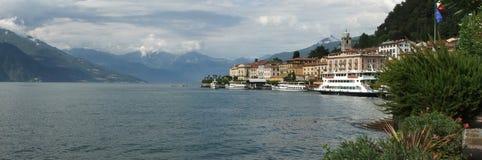 Krajobrazowy widok Bellagio Italia Zdjęcia Royalty Free