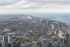 Krajobrazowy widok Chicago, usa Zdjęcie Stock