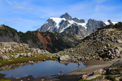 Krajobrazowy widok góra piekarz Obraz Royalty Free