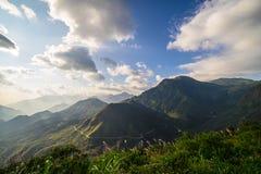 Krajobrazowy widok górski Obraz Stock