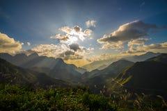 Krajobrazowy widok górski Obraz Royalty Free