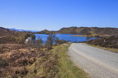 Krajobrazowy widok Loch Tarff Obraz Stock