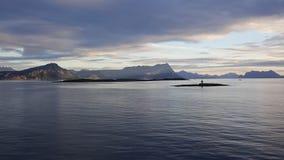 Krajobrazowy widok od Bodo lofoten Zdjęcia Stock