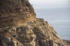 Krajobrazowy widok od Chapmans szczytu w Kapsztad Zdjęcie Royalty Free