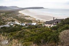 Krajobrazowy widok od Chapmans szczytu w Kapsztad Fotografia Royalty Free