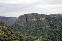 Krajobrazowy widok Przegapia Kloof wąwóz w Durban Obraz Royalty Free