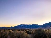 Krajobrazowy widok w Panum kraterze obraz royalty free