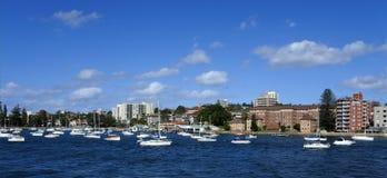 Krajobrazowy widok Waleczny w Sydney Nowych południowych waliach, Australia Zdjęcia Royalty Free