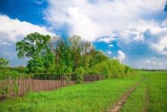 krajobrazowy wiejski Zdjęcie Stock