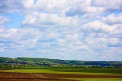 krajobrazowy wiejski obrazy royalty free