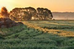 krajobrazowy wschód słońca fotografia stock