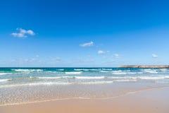 Krajobrazowy wybrzeże morze śródziemnomorskie Obrazy Royalty Free
