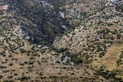 Krajobrazowy wzór w Chorwacja Obraz Stock