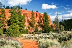 krajobrazowy zachód fotografia stock