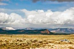 krajobrazowy zachód obrazy royalty free