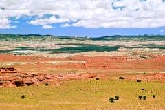 krajobrazowy zachód obraz stock