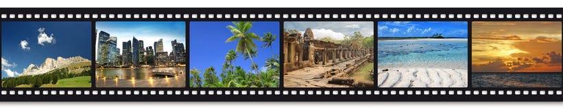 krajobrazowych śródziemnomorskich fotografii pocztówkowa podróż zdjęcia stock