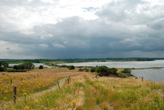 krajobrazu baltic morza zdjęcie royalty free