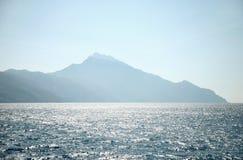 krajobrazu greece morza Zdjęcie Stock