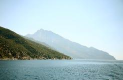 krajobrazu greece morza Zdjęcie Royalty Free