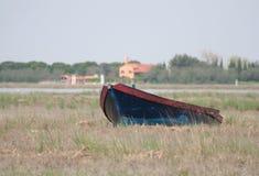 krajobrazu laguny Wenecji Zdjęcie Royalty Free