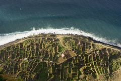 krajobrazu Madeira Obraz Royalty Free