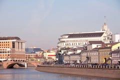 krajobrazu Moscow miasta Rosji Obrazy Royalty Free