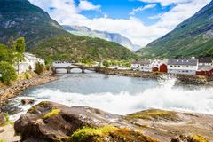 krajobrazu Norway zdjęcie royalty free