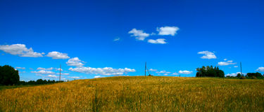 krajobrazu panoramiczny fotografia stock