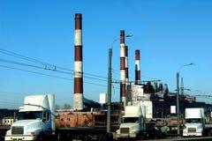 krajobrazu przemysłowego Zdjęcia Stock