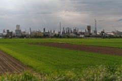 krajobrazu przemysłowego Zdjęcia Royalty Free