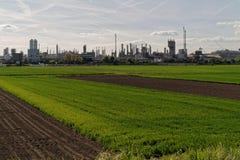 krajobrazu przemysłowego Obrazy Royalty Free