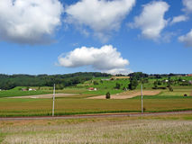 krajobrazu Szwajcarii Obraz Stock