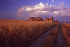 krajobrazu Tuscan Zdjęcie Royalty Free